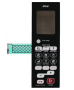 Membrana Painel Teclado Microondas Brastemp BMJ38AR