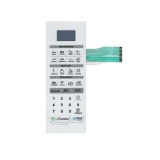 Membrana Teclado Microondas LG Ms3042r Ms3042b Ms3052r