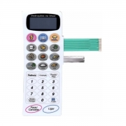 Membrana Teclado Microondas Panasonic Nn 6658 Nn 5658 Nn6958