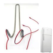 Resistência Refrigerador Brastemp Brg39 220v - 415104