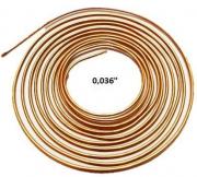 Tubo Capilar Cobre Para Refrigeração 0,036mm Rolo 3m