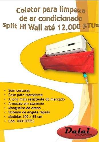 1 Maquina Para Limpar Ar Split + 1 Bolsa Coletora P Limpeza