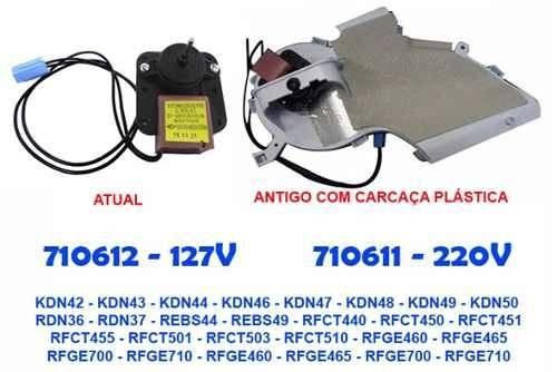 Motor Ventilador Bosch Kdn42 Kdn43 Kdn44 127v