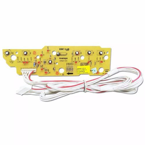 Placa Interface Com Adesivo Lavadora Brastemp Bwc10 Original