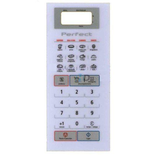 Membrana Painel Teclado Microondas Panasonic Nnst571 - Promoção