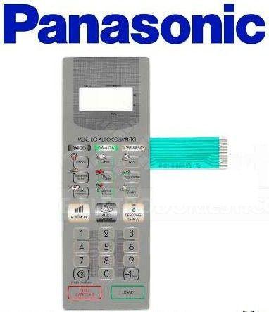 Membrana Painel Teclado Microondas Panasonic Nnst358 Prata - Oferta