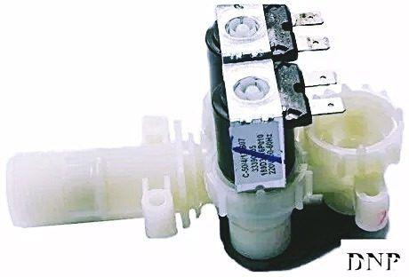 Válvula Dupla Ge Mabe Entrada De Água 10 11 12 13 15kg 220v