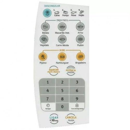 Membrana Painel Teclado Microondas Electrolux Mef28 - Oferta !