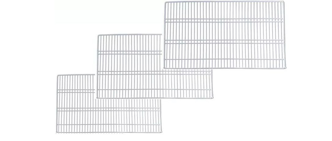 Prateleira Geladeira Continental Rcct440 Rcct480 Rcct490 kit com 03