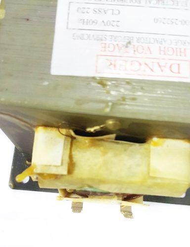 Transformador Microondas 220v Alta Tensão Novo - Super Oferta!!