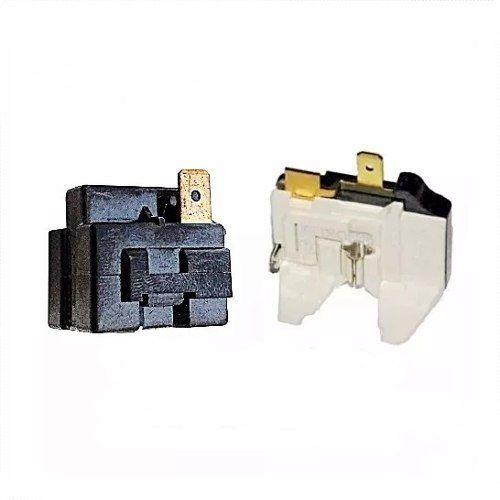 Relé Ptc E Protetor Térmico Universal + Fusivel Bosch/ge