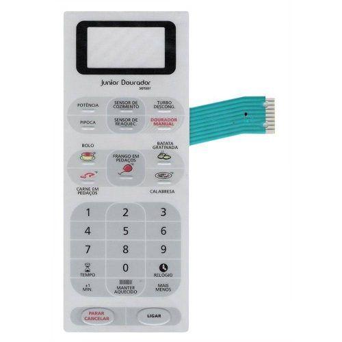 Membrana Painel Teclado Microondas Panasonic Nng55 Al28034