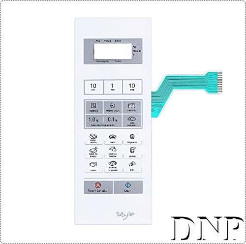 Membrana Painel Teclado Microondas Panasonic Nnst341 - Promoção !!
