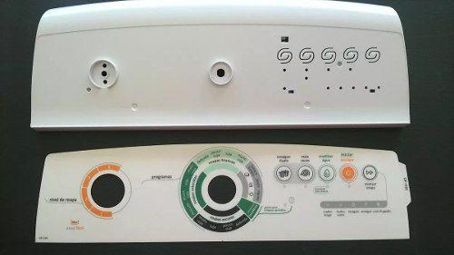 Console Painel + Adesivo Lavadora Consul Facilite W10338751