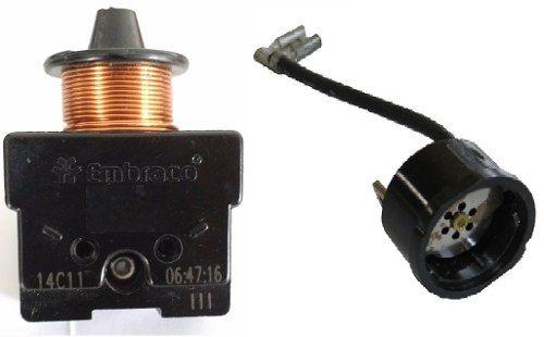 Rele De Partida Compressor 1/4 220v Curto Protetor Térmico
