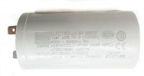 Capacitor 12uf 400vac 50/60hz 220v Kit 10 Unidades - Liquidação