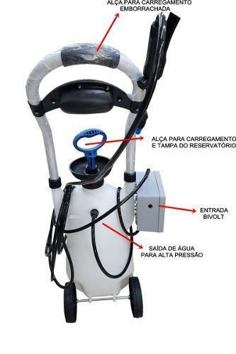 Maquina Para Limpeza De Ar Condicionado Carrinho E Coletor