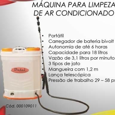 Máquina Limpeza Split + Bolsa Coletora 18 Mil - Mega Promoção
