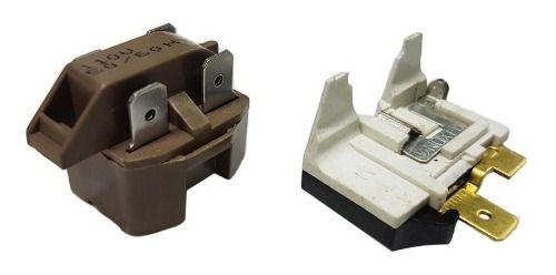 Relé Ptc E Protetor Térmico Universal Geladeira E Freezer