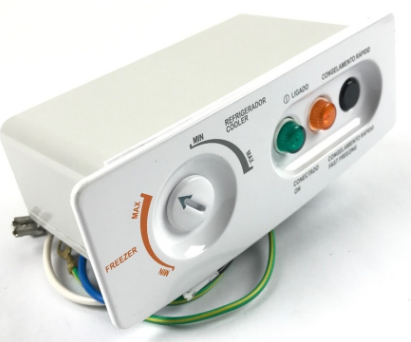 Console Painel Termostato Freezer Consul CHA22 CHA31 Controle Original