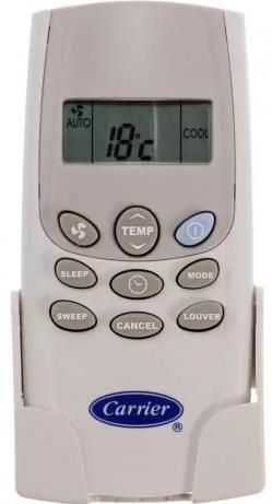 CONTROLE REMOTO AR SPLIT PISO TETO SPRINGER CARRIER 41014010