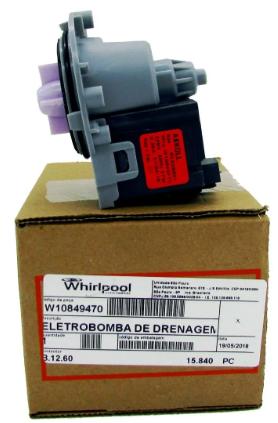 Eletrobomba Universal Brastemp Consul Drenagem 220V Original
