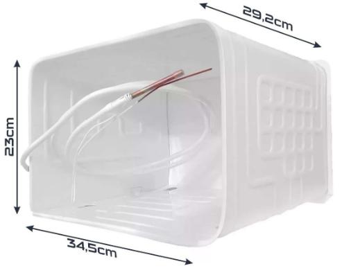 Evaporador Consul Crc23 Crc24 Crc28 Crp28 Refrigerador Original W10211808