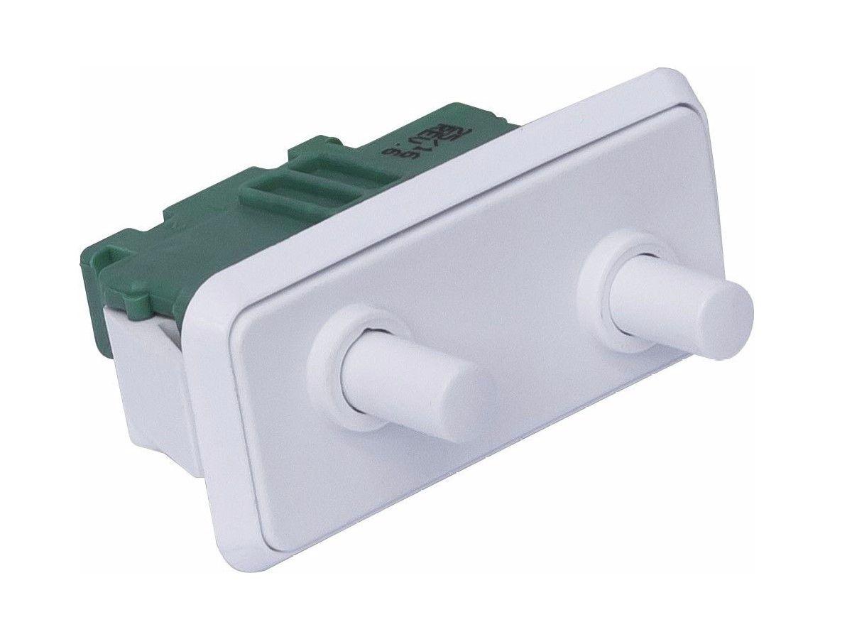 Interruptor Duplo Electrolux Dc47 Dc49x Dff44 Luz 64484457
