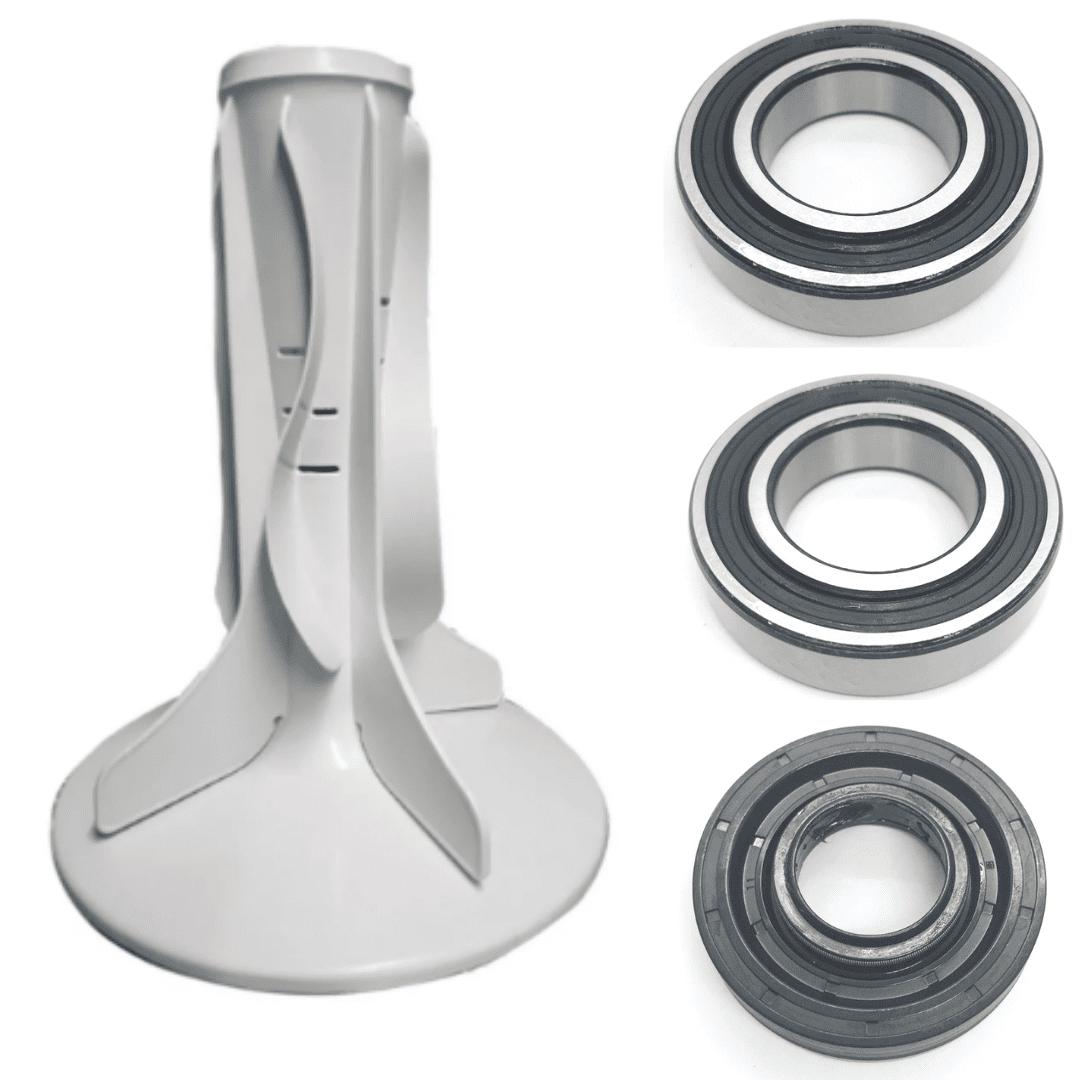 Kit Agitador 8 Pás, Retentor Original e Rolamento Original