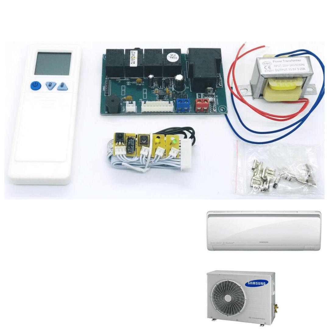 Kit Controle Remoto Com Placa Universal Split Hight Wall