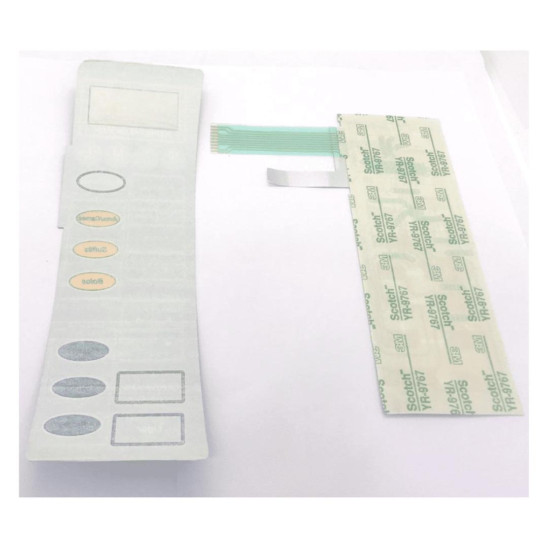 Membrana Painel Teclado Microondas Panasonic Nn7956 Pr Reta - A pronta Entrega !!