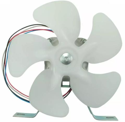 Micro Motor Exaustor Churrasqueira 1/40 Hélice Plastico Biv