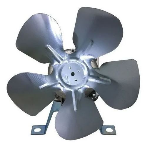 Micro Motor Ventilador 1/40  P/ Churrasqueira  Bivolt + Hélice de Alumínio