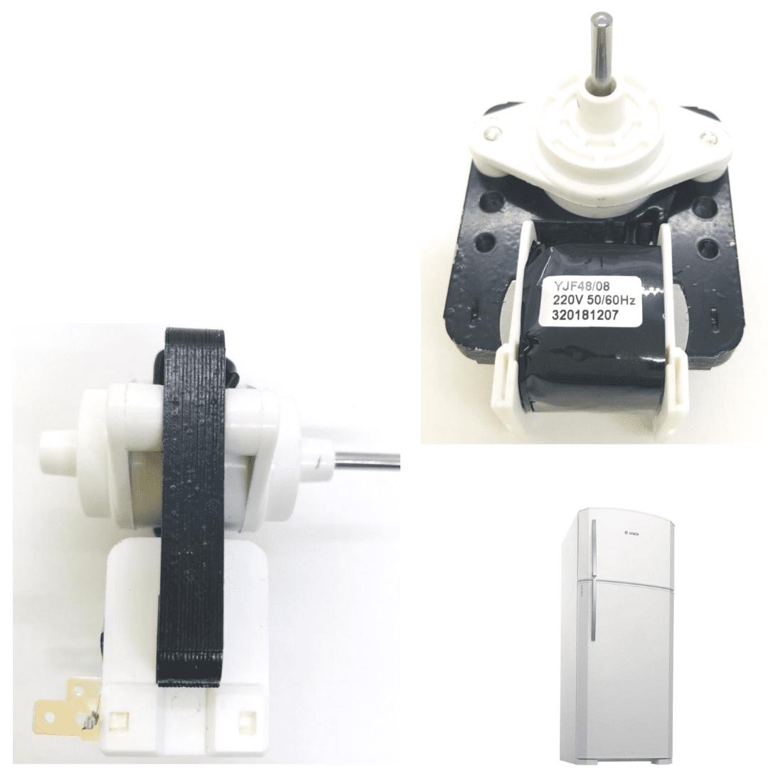 Motor Ventilador Geladeira Continental Bosch 220v 710576