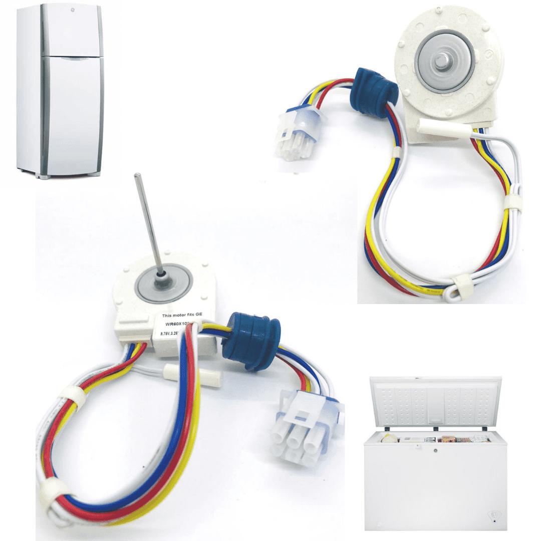 Motor Ventilador Refrigerador Ge Side By Side 9.75V Panasonic