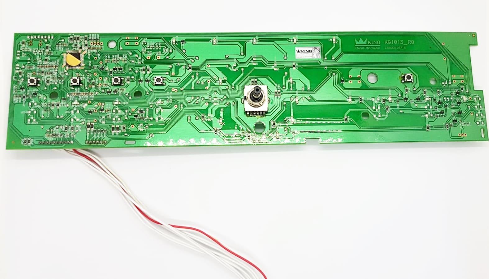 Placa Interface Compatível Lavadora Bwl11 W10301604 Versão 2