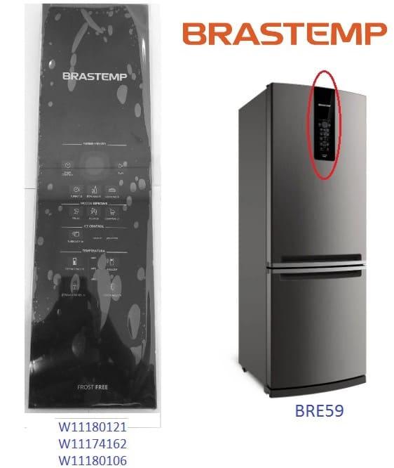 Placa Interface Painel de Vidro Brastemp Frost Free Bre59