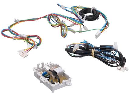 Placa Lavadora Consul Cws12 127v C/ Rede Chicote Fios Sensor Original
