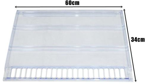 Prateleira Plástica Acrílica Ksu Continental Bosch Ge Mabe