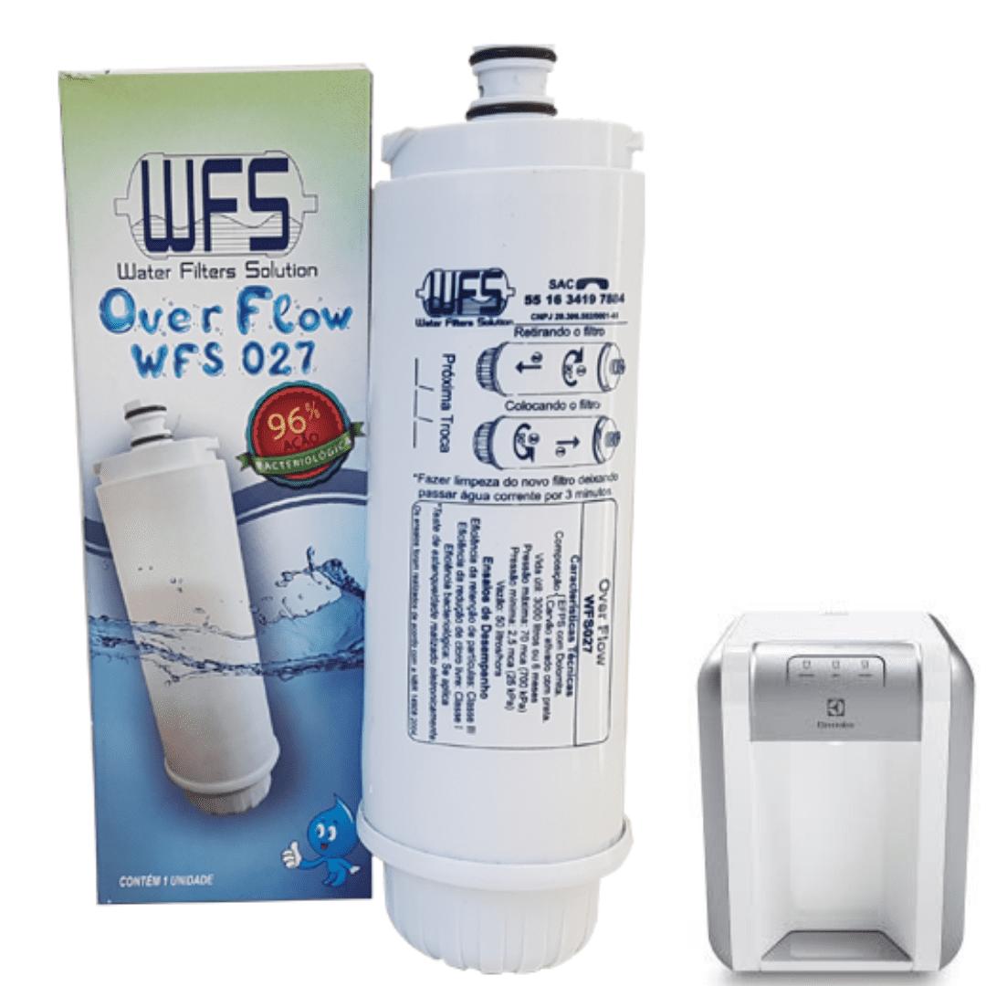 Refil Filtro De Agua WFS027  Smart Flow, Duração 06 Meses