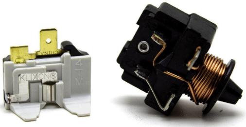Rele Partida Compressor 1/3 127v E Protetor Térmico Embraco Geladeira