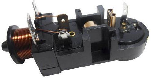 Rele Partida Compressor 1/6 127v E Protetor Térmico Embraco Longo