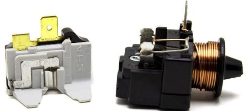Rele Partida Compressor 1/6 220v E Protetor Térmico Embraco Geladeira