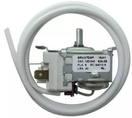 Termostato Geladeira Brastemp Duplex BRF30 BRF41BRF44 Rc94012-6
