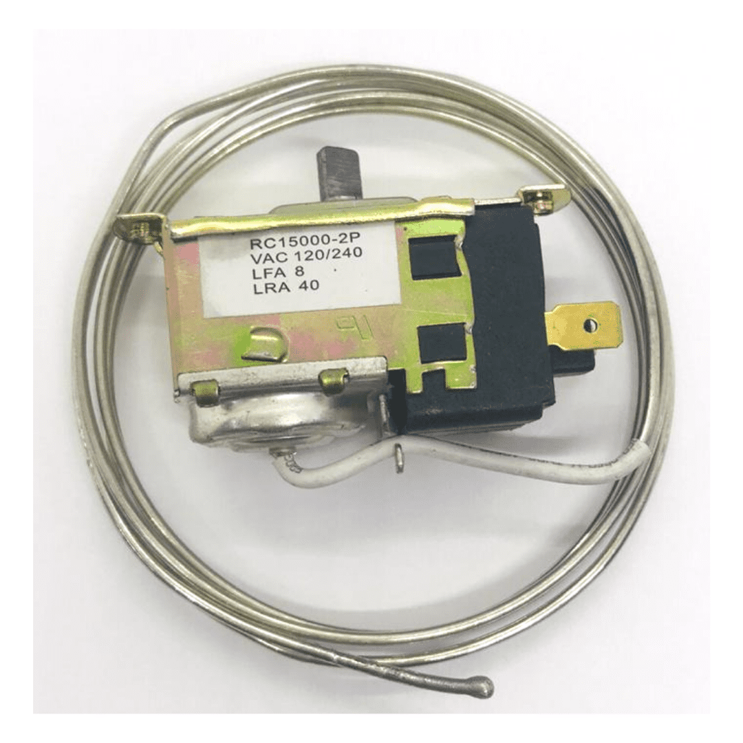 TERMOSTATO REFRIGERADOR RC -15000-2P, VAC 120/240, LFA 8, LRA 40