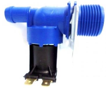 Válvula Simples Lavadora 220v C/ Suporte Encaixe