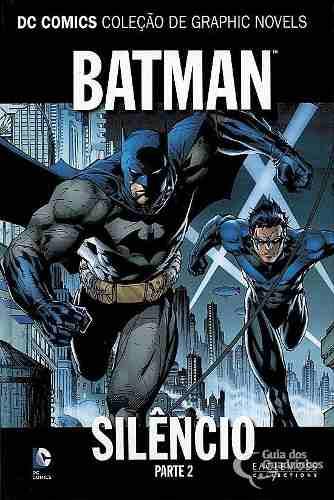 Batman Silêncio Parte 1 E 2 Completo Capa Dura Lacrado  - Vitoria Esportes