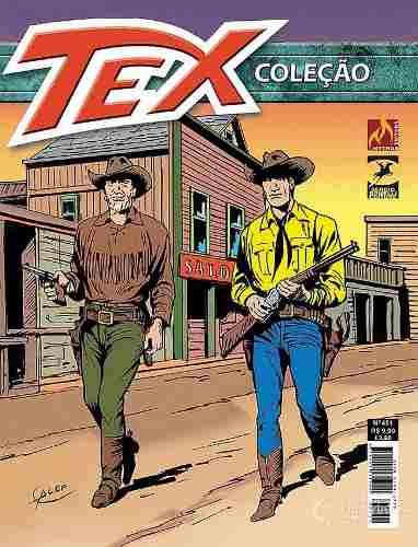Revista Hq Gibi - Tex Coleção 451  - Vitoria Esportes