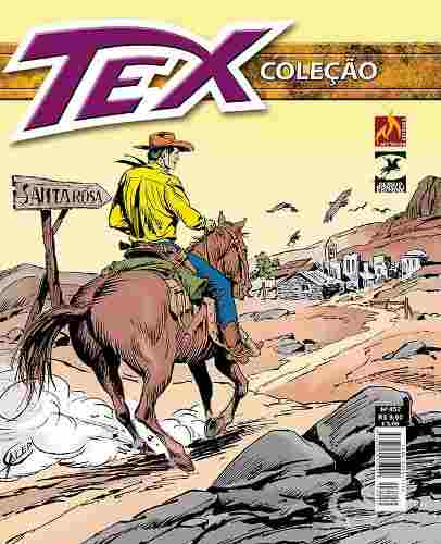 Hq Gibi - Tex Coleção 452  - Vitoria Esportes
