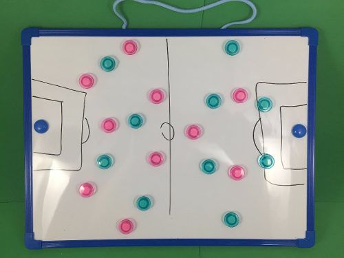 Quadro Tático Prancheta Magnética Multiuso Campo Futsal